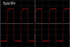 FOLS-07 100kHzパルス発光