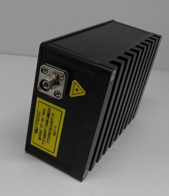 組込用SMファイバ出力LD光源(正面パネル)