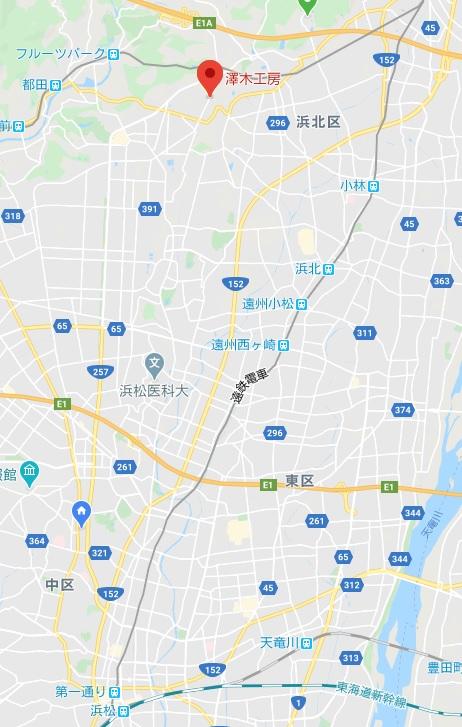 澤木工房地図